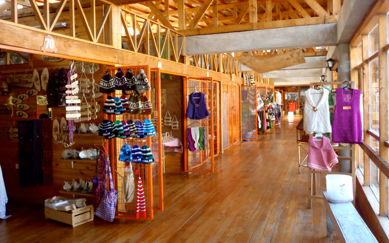 Mercado artesanal de Ancud