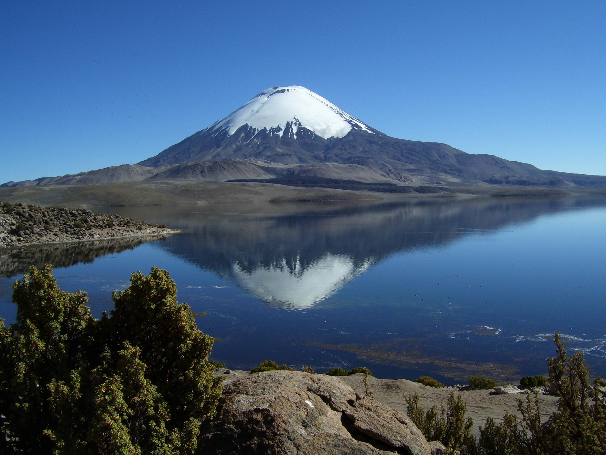 Lago Chungará y Parque Nacional Lauca